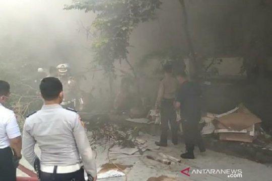 Sedang direnovasi, basement SMA Negeri 1 Kota Bogor terbakar