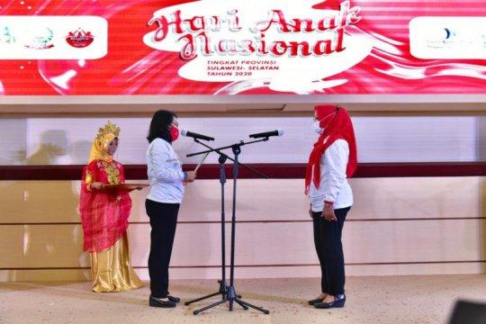 Menteri PPPA kukuhkan Bunda Forum Anak Sulawesi Selatan