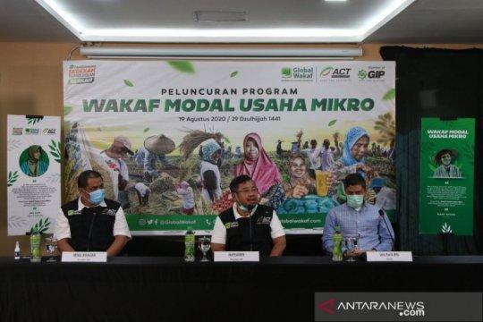 Bangkitkan ekonomi saat pandemi, ACT luncurkan Wakaf Modal Usaha Mikro