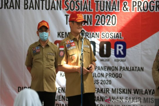 Mensos harapkan bantuan sosial tunai menggerakkan ekonomi lokal