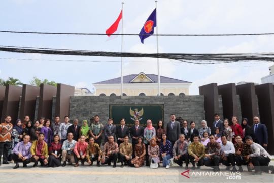 Menlu RI resmikan gedung baru KBRI Phnom Penh secara daring