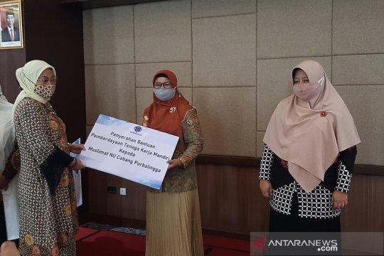Menaker salurkan bantuan program Tenaga Kerja Mandiri di Purbalingga