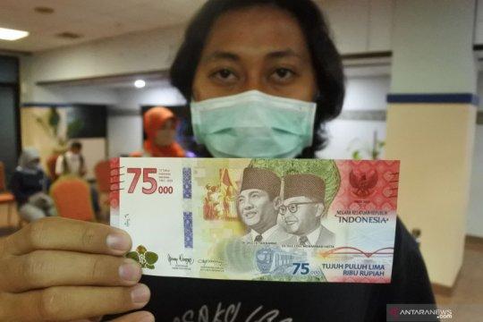 BI buka layanan tukar uang kertas Rp75.000 secara kolektif