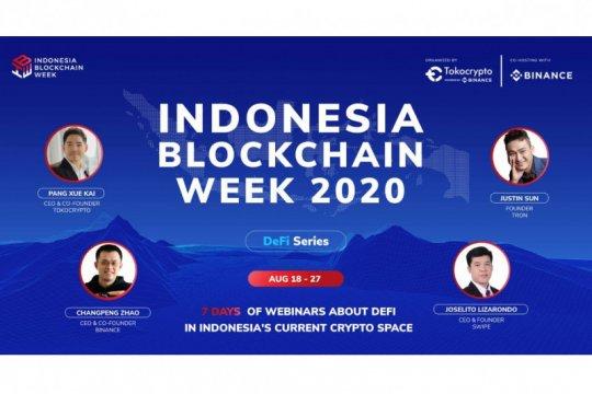 "IBW 2020 fokus pada teknologi blockchain ""decentralized"""