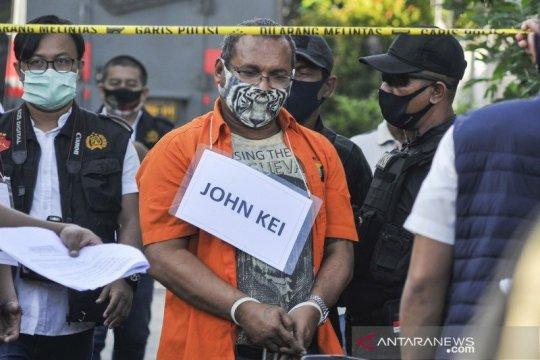 John Kei jalani sidang dakwaan secara telekoferensi pada Rabu
