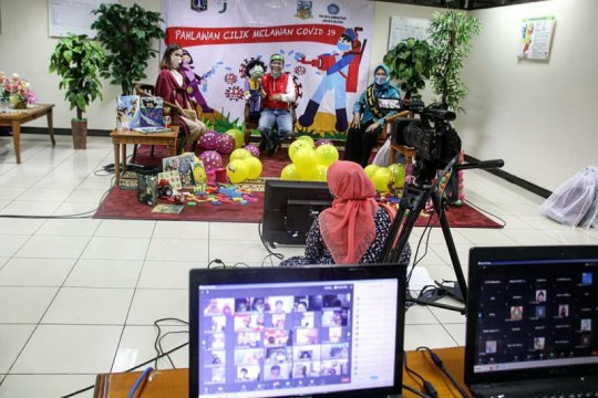 Jakarta Selatan gelar dongeng virtual hibur murid PAUD dan TK