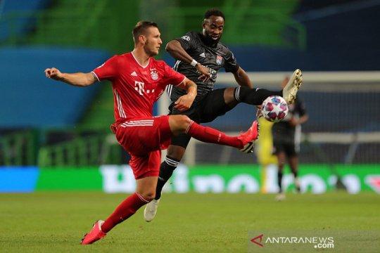 Saham Lyon melorot lagi setelah dikalahkan Bayern