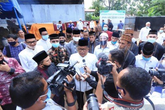 Wali kota sumbang 9.000 sak semen bangun lembaga tahfiz