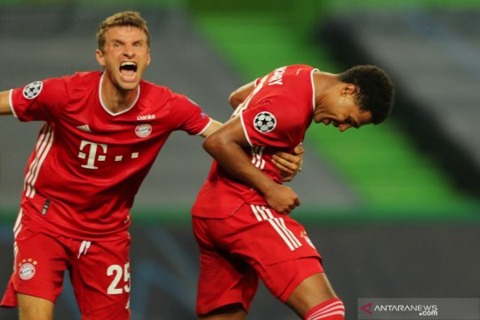 Mueller dan Gnabry kembali berlatih bersama Bayern Munich
