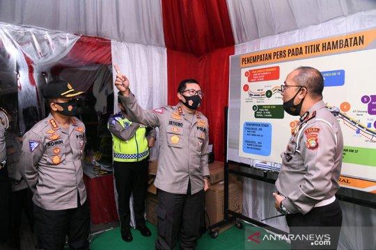 Korlantas sebut arus kendaraan keluar Jakarta naik hingga dini hari