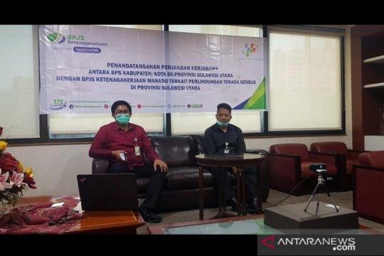 BPJAMSOSTEK-BPS lindungi tenaga SP2020 di Sulut