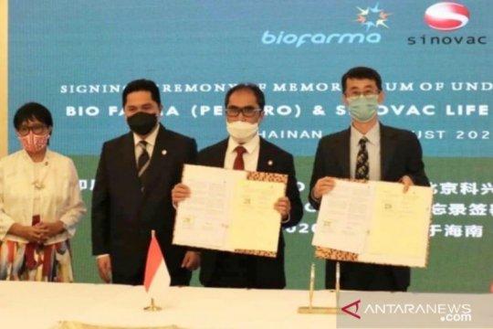 Kemlu: Indonesia tak sulit negosiasi vaksin dengan banyak negara