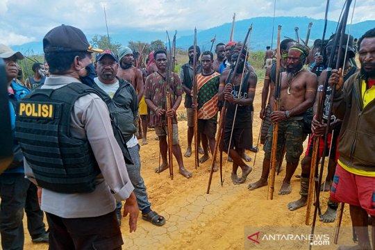 Kapolres Jayawijaya: Warga minta izin perang tiga hari