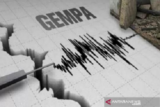 Gempa dengan magnitudo 4,8 landa Bengkulu Utara