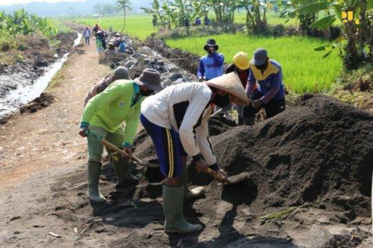 Realisasi Padat Karya Tunai Sumber Daya Air serap 163 ribu pekerja