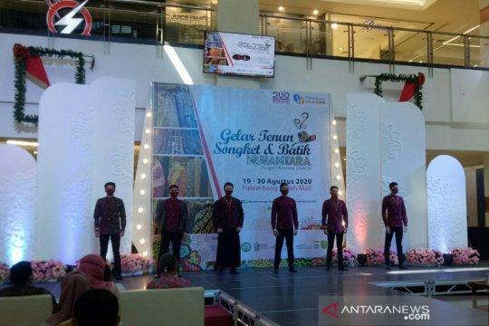 Gelar pameran, bisnis fesyen tradisional di Palembang mulai menggeliat