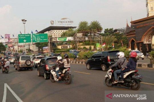 Terjadi 17.811 pelanggaran lalu lintas di Kabupaten Bogor selama PSBB