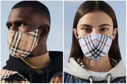 Burberry luncurkan masker kain dengan motif ikonik