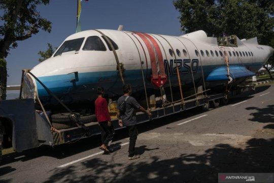 Pesawat N250 Gatotkaca menjadi koleksi baru Muspusdirla