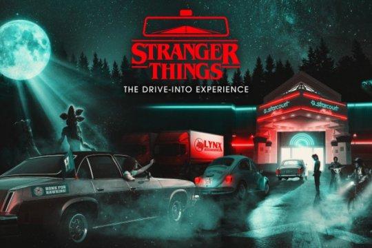 """""""Drive-in"""" dunia """"Stranger Things"""" akan hadir di Los Angeles"""