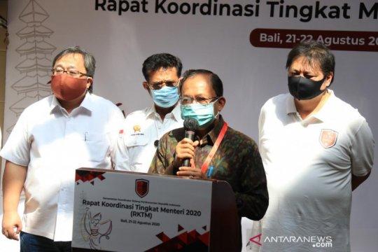 Koster sampaikan harapan pemulihan Bali dalam rakor tingkat menteri