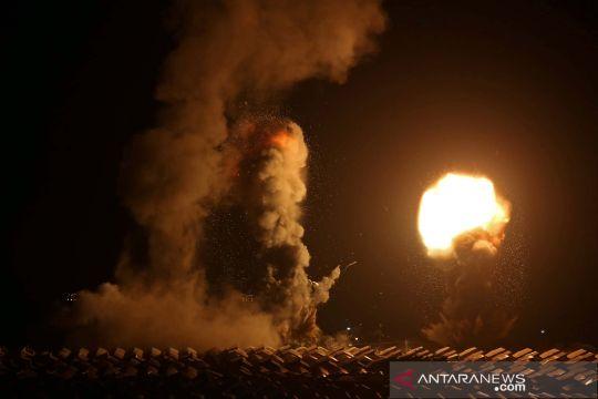 Serangan udara Israel ke Jalur Gaza Palestina
