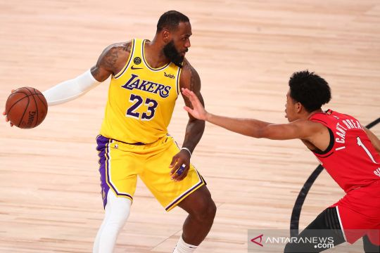 NBA: Los Angeles Lakers kalahkan Portland Trail Blazers