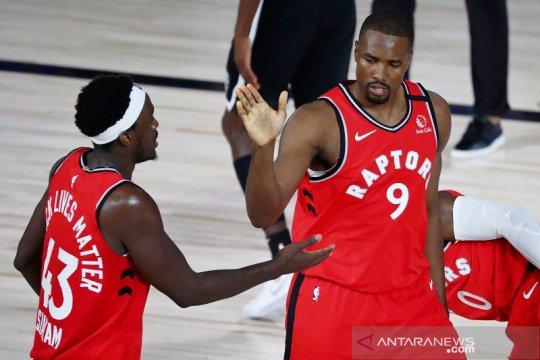 Raptors di ambang semifinal Timur setelah menang gim ketiga lawan Nets