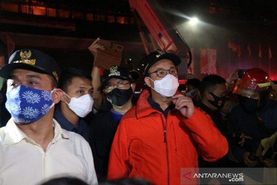 Kejagung terbakar, Anies serahkan penyelidikan kepada polisi