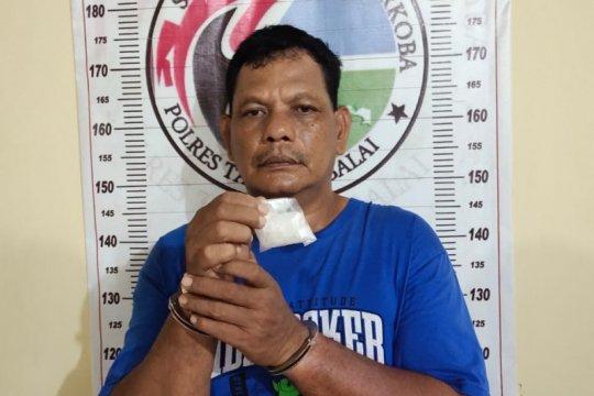 Polres Tanjung Balai ringkus tersangka pengedar sabu-sabu