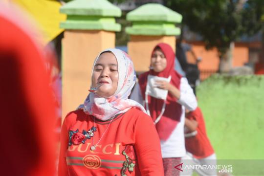 Ada pandemi, nakes di Gorontalo Utara baru peringati HUT Ke-75 RI