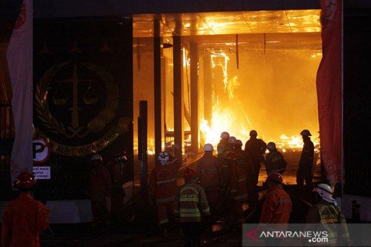 Jaksa Agung sebut ruang kerjanya ikut terbakar