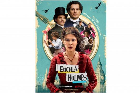 """Film terbaru Millie Brown """"Enola Holmes"""" tayang 23 September"""