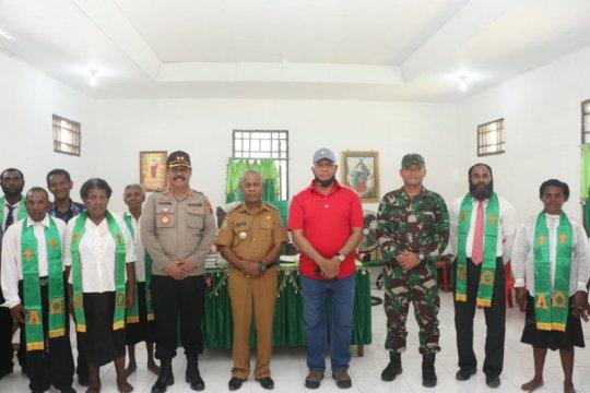Kapolda Papua resmikan Gereja Patmos di Sarmi