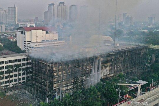 Polda Metro petakan sejumlah saksi kebakaran Kantor Kejaksaan Agung