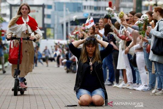Menlu Inggris kecam penangkapan puluhan wartawan di Belarus