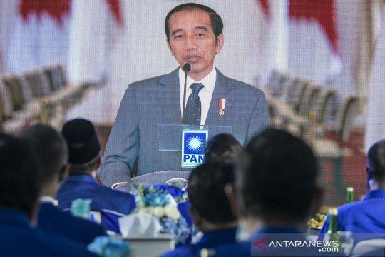 Kemarin, Jokowi sebut persaingan saat HUT PAN hingga Pilkada Surabaya