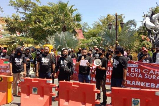 Pilkada Surabaya, Putra Risma dan GAS aksi dukung Eri Cahyadi