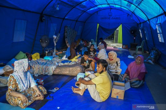 Kemenkes siapkan protokol pencegahan COVID-19 di pengungsian