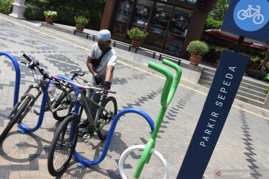 Wujudkan multimoda, Menhub ajak warga bersepeda ke stasiun dan mal