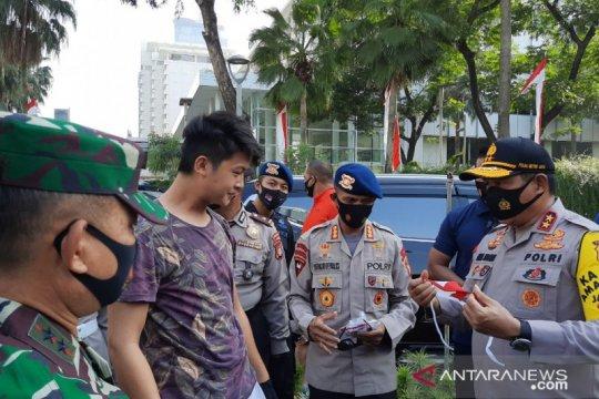 Polda Metro Jaya terus kampanyekan protokol kesehatan