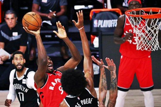 Raptors hajar Nets 150-122 untuk menyapu putaran pertama  4-0