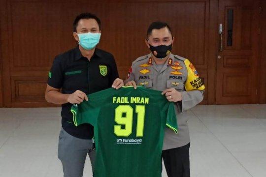Presiden Persebaya temui Kapolda Jatim bahas bergulirnya Liga 1