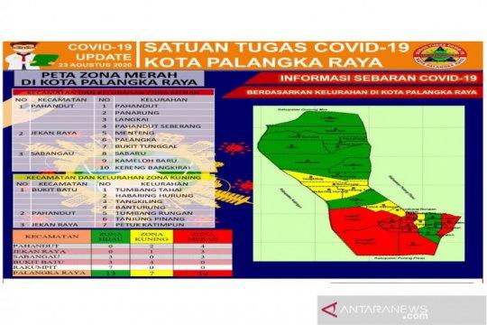 10 Kelurahan di Palangka Raya masih zona merah COVID-19
