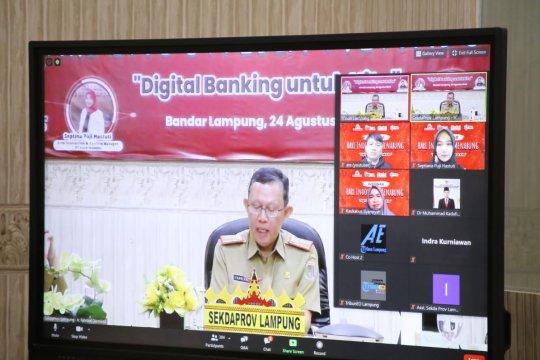 Pemprov Lampung perkenalkan digital banking kepada masyarakat