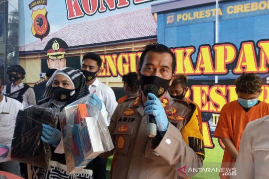 Polresta Cirebon tangkap intel gadungan tipu puluhan pelajar