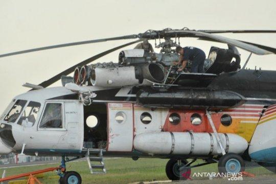 Kru helikopter pemadam karhutla sumsel asal Rusia ditemukan meninggal