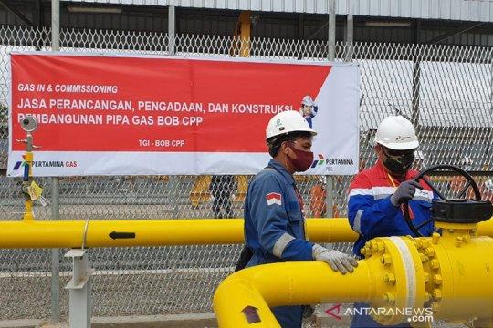 Pertagas alirkan gas perdana ke Kuala Tanjung
