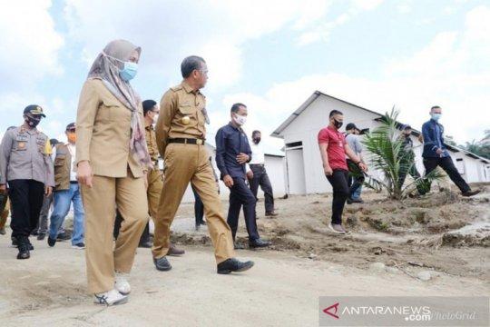 Korban banjir bandang Luwu Utara dibantu pembangunan hunian tetap
