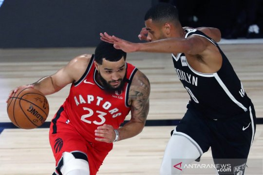 NBA: Raptors singkirkan Brooklyn Nets setelah menang 150 - 122